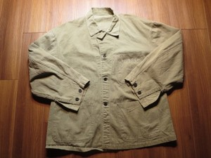 U.S.MARINE CORPS HBT Fatigue Jacket 1940年代 used