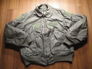 U.S.AIR FORCE Jacket CWU-45/P 1992年 sizeL used