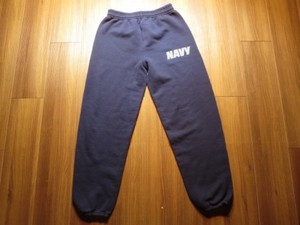 U.S.NAVY Sweat Trousers sizeS used