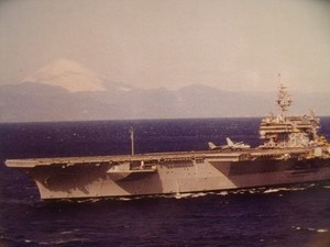 "U.S.NAVY Post Card ""USS KITTY HAWK CV-63"""