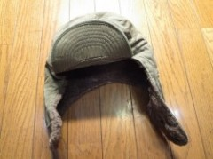 U.S.Field Cap Cold Weather 1950年代? size7 1/8? used