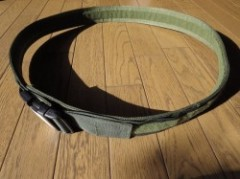 U.S.Belt Nylon? Olive sizeXL used