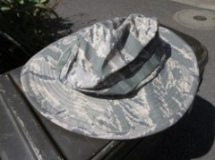 U.S.AIR FORCE Hat Hot Weather size7 3/8 used