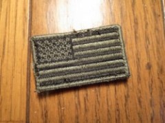 "U.S.Patch Small Subdued ""The Stars and Stripes"""