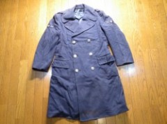 U.S.AIR FORCE Overcoat Wool Velour 1963年 size35S