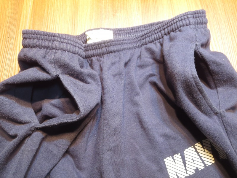 U.S.NAVY Sweat Trousers Physical Training sizeXL