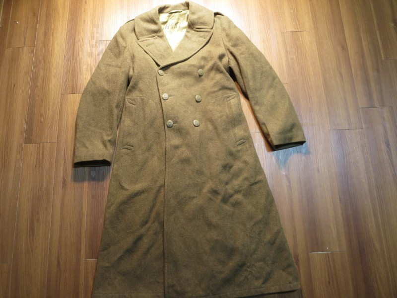 U.S.ARMY OverCoat Wool 1943年 size40L used