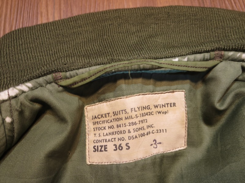 U.S.NAVY Jacket G-8(WEP) 1969年 size36S used