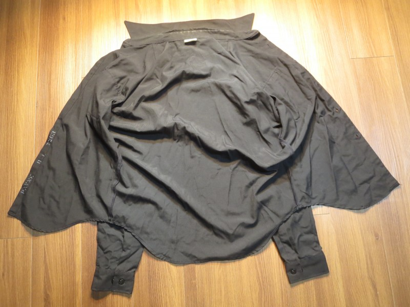 U.S.NAVY Shirt Poly/Wool 1998年 size16 1/2 used