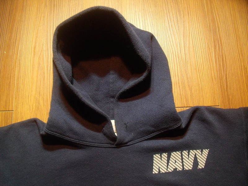 U.S.NAVY Hooded Parka Athletic sizeM used