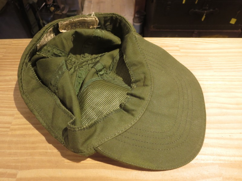 U.S.ARMY Cap Hot Weather 1960年代? size7 1/8 used